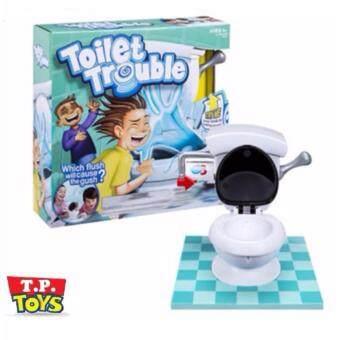 T.P. TOYS TOILET TROUBLE เกมส์กดชักโครกสุดหรรษา สุดฮิตในต่างประเทศ เล่นได้ทั้งครอบครัว