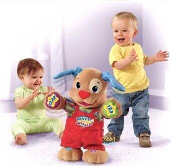 Kids Castle ตุ๊กตาหมาเต้นสอนภาษา ชวนเต้นชวนออกกำลังกาย