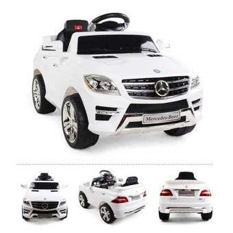 Uni รถบังคับวิทยุ รถบังคับดริฟ รถบังคับไฟฟ้า รถเด็กไฟฟ้า รถแบตเตอรี่ไฟฟ้า รุ่น เบ็นซ์ Mercedes-Benz ML350(สีขาว)