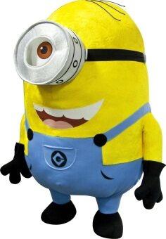 Universal Minions ตุ๊กตา มินเนี่ยน Despicable me 1 ตา 16\(สีเหลือง)