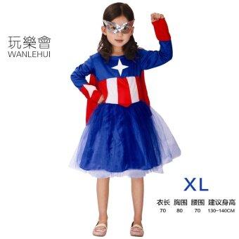 Wanlehui ฮาโลวีนการแสดงเด็กผู้ใหญ่เครื่องแต่งกาย