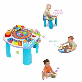 Winfun โต๊ะกิจกรรม Winfun letter train and piano activity table