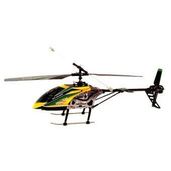 WL Toys โดรนบังคับ เครื่องบินบังคับ เฮลิคอปเตอร์บังคับวิทยุ รุ่น V912 (สีเหลือง)