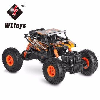 WLtoys 18428 - B 1:18 4WD RC Climbing Car รถไต่หิน off-road 4WD 2.4Ghz.