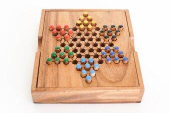 Wood Toy ของเล่นไม้ chinese checkers 6 ดาว