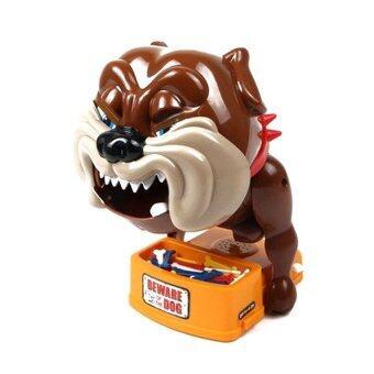 Worktoys เกมส์ หมาหวงกระดูก Bad dog (สีน้ำตาล)