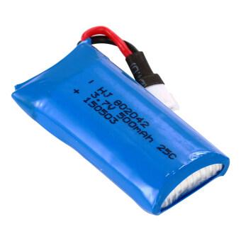 XCSource อุปกรณ์ชาร์จ USB Charger +แบตเตอรี่ 3.7V 500mAh Lipo 2ชิ้น สำหรับ Hubsan X4 H107D H107C H107L (image 4)