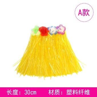เต้นรำประสิทธิภาพการแต่งกายเสื้อผ้าเครื่องแต่งกาย Xia Weiyi กระโปรงหญ้า