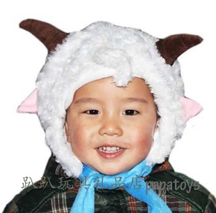 Xiyangyang ผ้าโพกศีรษะแพนด้าประสิทธิภาพ props คริสต์มาสตุ๊กตาหมวกหมวก