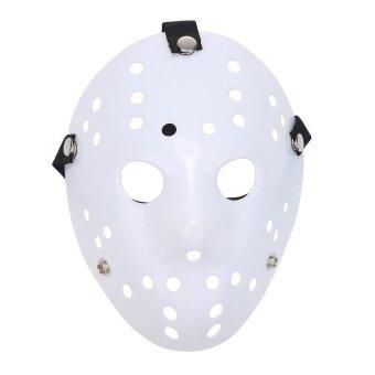 Yellow Jason Mask Halloween Custumeball Party Horror Funny Cosplay Face Mask - intl