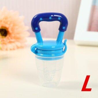 Yika Pancreas pacifier baby fruit and bite bite music baby feedingfood baby bite music(Caliber L) - intl