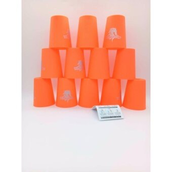 แก้วสแต็ค YJ Speed Stack Cups Set 12 Pcs Family Game Stacking Rapid Fast