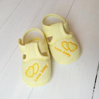 มาแรง YUSIXUE รองเท้าเด็กหัดเดินพื้นนุ่ม กันลื่น ระบายอากาศ
