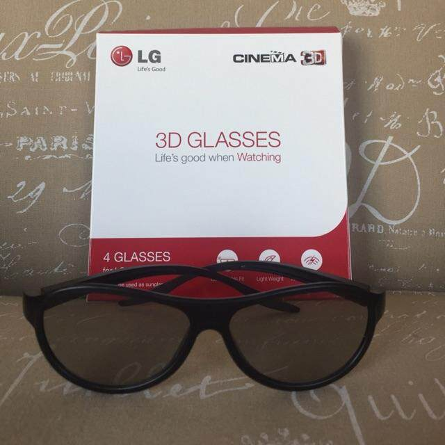 """สุดยอดสินค้า!! """"ส่งฟรี KERRY""""LG 3 D Glasses แว่นตา 3 มิติ ยี่ห้อ LG รุ่น AG-F310 แท้ 100% พร้อมส่ง (1 ชิ้น)"""