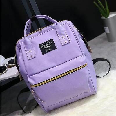 กระเป๋าเป้ นักเรียน ผู้หญิง วัยรุ่น เชียงราย PANDA SHOP กระเป๋าเป้สะพายหลังสุดคลาสสิค สีสันสดใสรุ่นLT03
