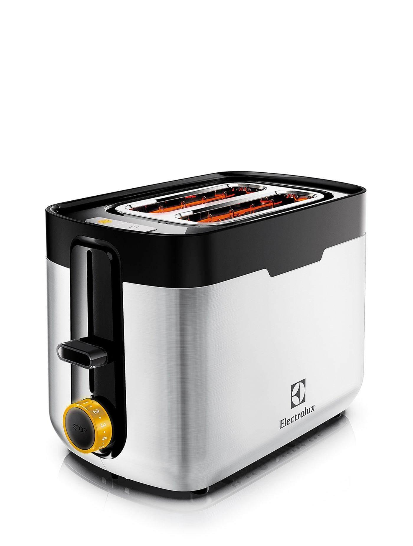 ยี่ห้อนี้ดีไหม  บึงกาฬ ELECTROLUX 2-Slice Toaster maker ETS5604S Stainless toasters sandwich makers