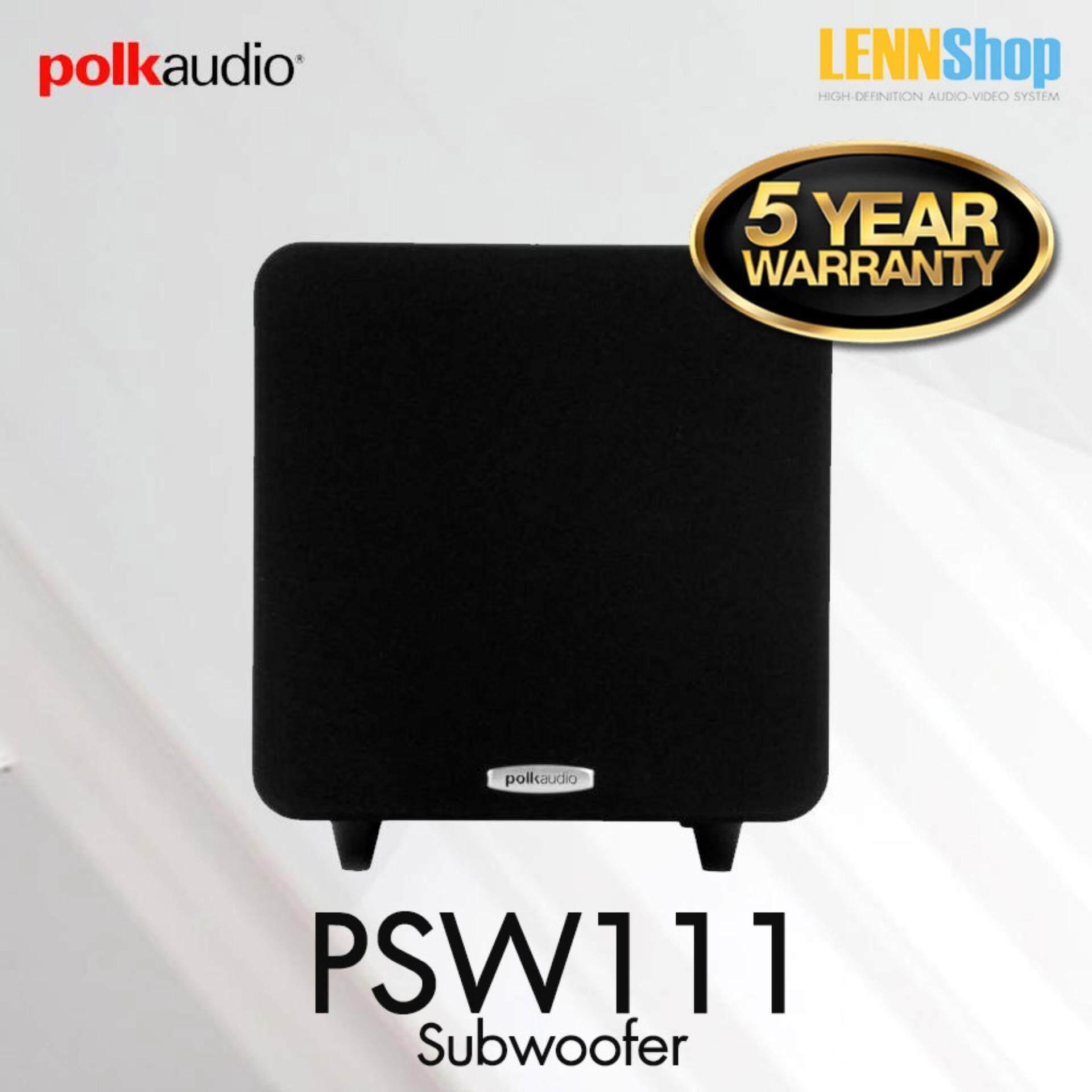 สอนใช้งาน  สมุทรสาคร Polk Audio PSW111 Subwoofer กำลังขยาย 300 Watts รับประกัน 5ปี ศูนย์ POWER BUY จากผู้นำเข้าอย่างเป็นทางการ
