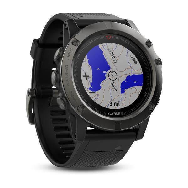 ยี่ห้อไหนดี  ปราจีนบุรี Garmin Fenix 5X Sapphire Multisport GPS Mapping สินค้าพร้อมส่ง