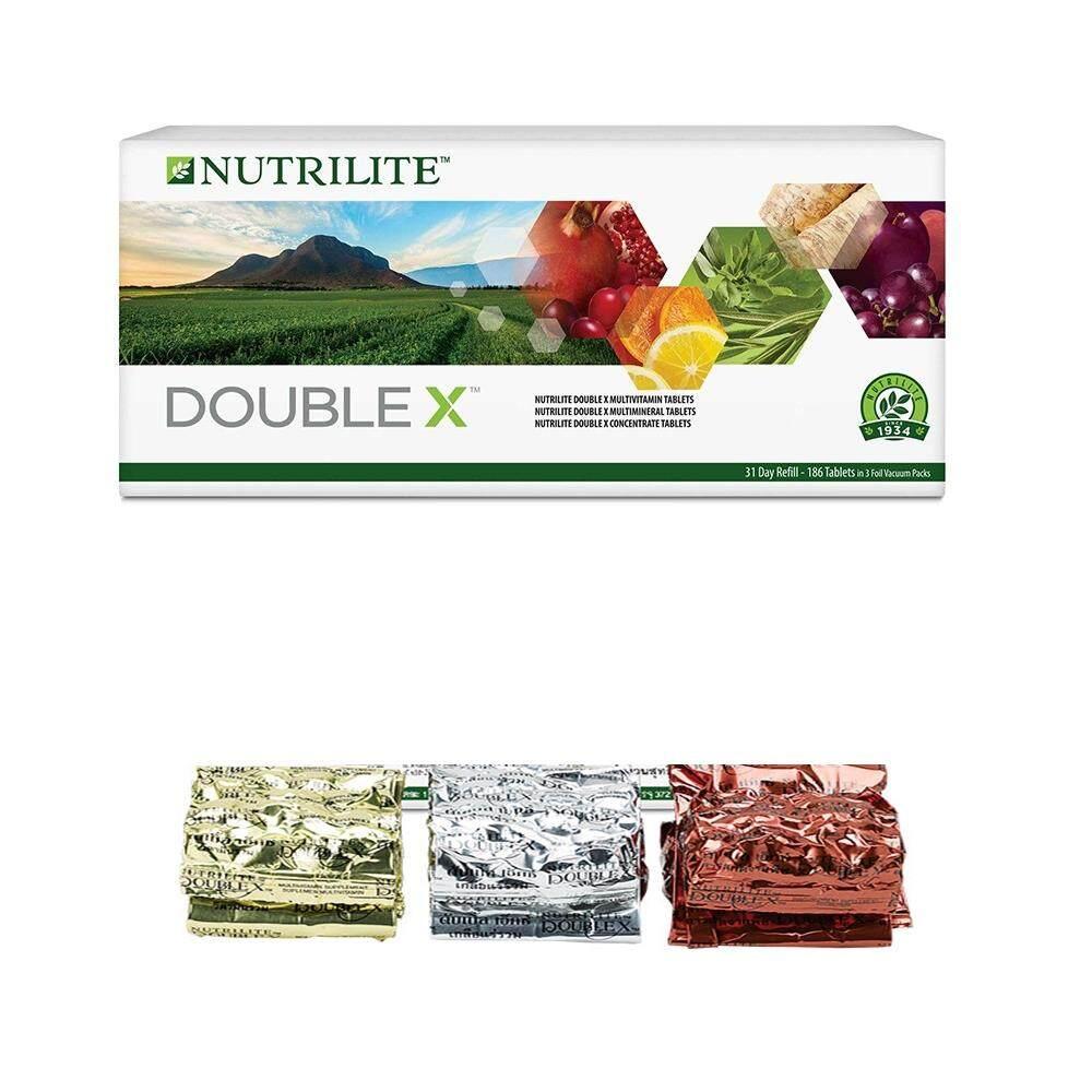 ล็อตผลิตใหม่ล่าสุด ส่งด่วนทันใจโดย KERRY นิวทริไลท์ ดับเบิ้ล เอ็กซ์ ชนิด Refill 1 กล่อง(ชนิดเติม ไม่มีกล่อง)มีประโยชน์ต่อร่างกาย NUTRILITE DOUBLE X Refill Multivitamin/Multimineral/Concentrate (31-da