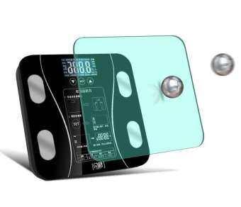 SHINEเครื่องชั่งน้ำหนัก เครื่องชั่งน้ำหนัก Glass Smart อิเล็กทรอนิกส์แบบดิจิตอล Body Weight Scale Weight Balance Bariatric LCD Display