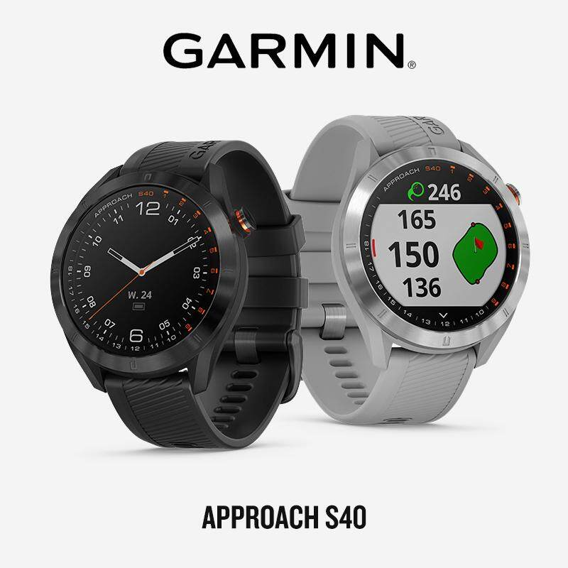 ยี่ห้อไหนดี  ลำพูน Garmin Approach S40 นาฬิกากอล์ฟ GPS ไลฟ์สไตล์ (รับประกันศูนย์ไทย 1 ปี)