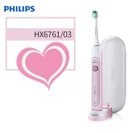 แปรงสีฟันไฟฟ้า ช่วยดูแลสุขภาพช่องปาก กาญจนบุรี Philips Sonicare HealthyWhite Rechargeable sonic toothbrush HX6761