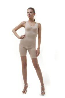 Swans Taping Top Size L-XL รุ่น Slimming (Nude)