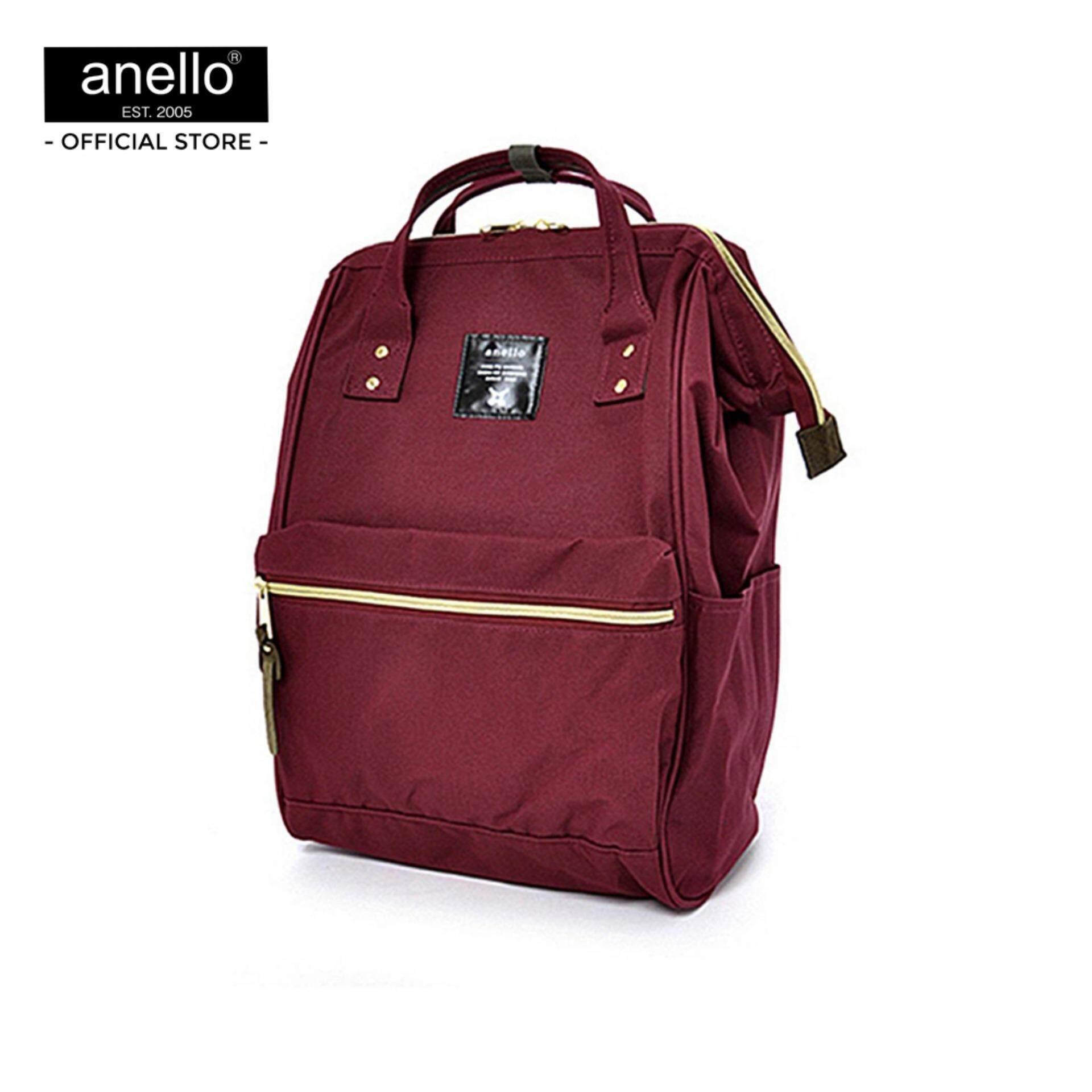สอนใช้งาน  บุรีรัมย์ anello กระเป๋า เป้ Mini Backpack _AT-B0197B