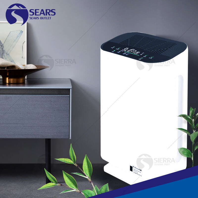 เครื่องฟอกอากาศ Air Purifier เครื่องฟอกอากาศสีขาว กรองได้ประสิทธิภาพมากที่สุด กรองฝุ่น ควัน และสารก่อภูมิแพ้ ไรฝุ่น