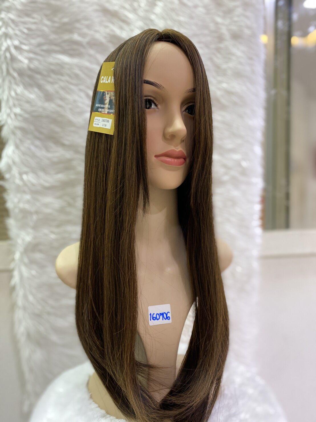 ร้านฟ้าใสวิกผม Cala wigs แผ่นปิดผมบางยาวเสกกลาง 160706 ดูเป็นธรรมชาติ