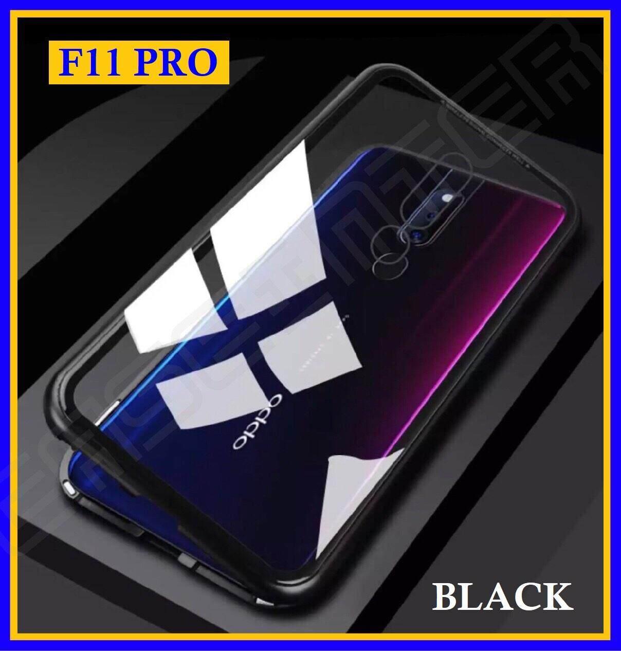 เก็บเงินปลายทางได้ [รับประกันสินค้า] Case Oppo F11 Pro เคสออฟโป้ F11Pro เคส Oppo F11Pro สินค้าพร้อมจัดส่ง เคสแม่เหล็ก เคสประกบ360 Magnetic Case 360 degree เคส Xiaomi Redmi เคสมือถือ เคสกันกระแทก รุ่นใหม่ แม่เหล็ก ประกบ หน้า-หลัง สินค้าใหม่