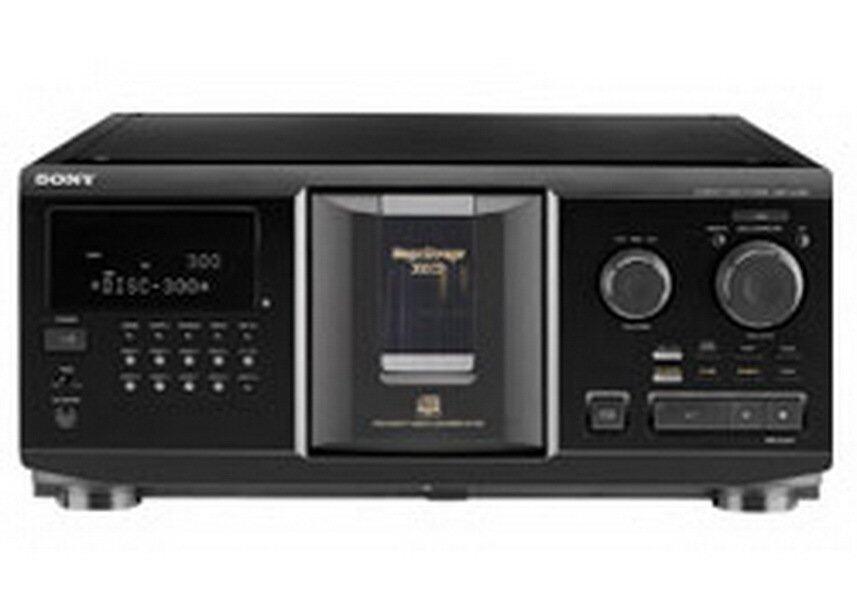 ยี่ห้อนี้ดีไหม  กาฬสินธุ์ Sony เครื่องเล่นซีดีคาราโอเกะ 300 แผ่น รุ่น CDP-CX355 - สีดำ