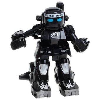 Robot battel หุ่นยนต์นักมวยบังคับวิทยุ 2.4 Ghz สีดำ