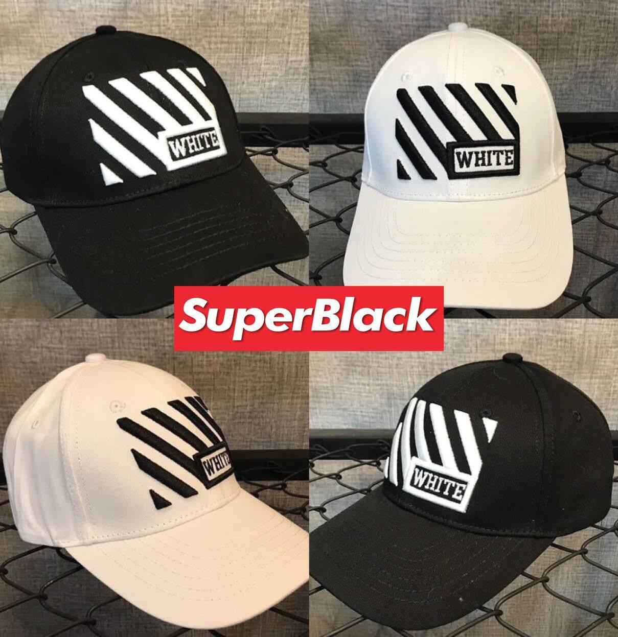 หมวกOff-White GAP ®️ (สีดำ/สีขาว) *จัดส่งจากก.ท.ม ส่งฟรีKerryเก็บเงินปลายได้*