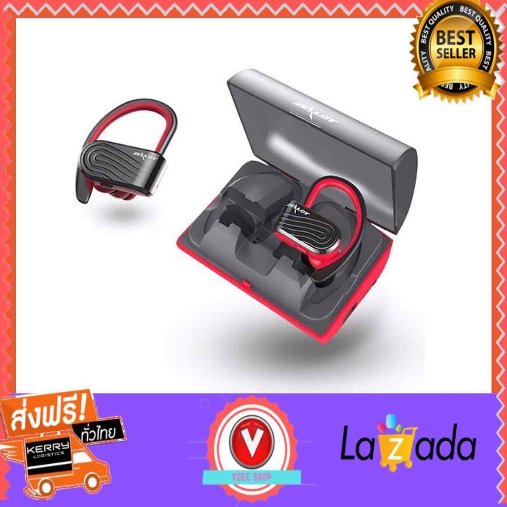 ขายดีมาก! ZEALOT H10 TWS power bank Bluetooth Headsets หูฟังบลูทูธ กันเหงื่อได้หูฟังไร้สาย earphone headphone  ส่งฟรี Kerry