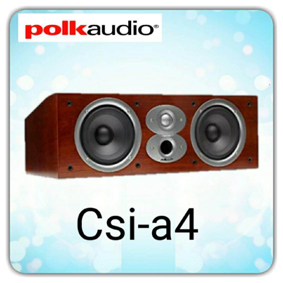 การใช้งาน  นครปฐม Polk Audio  Center  รุ่น csia4  รับประกัน 5ปี ศูนย์ POWER  BUY