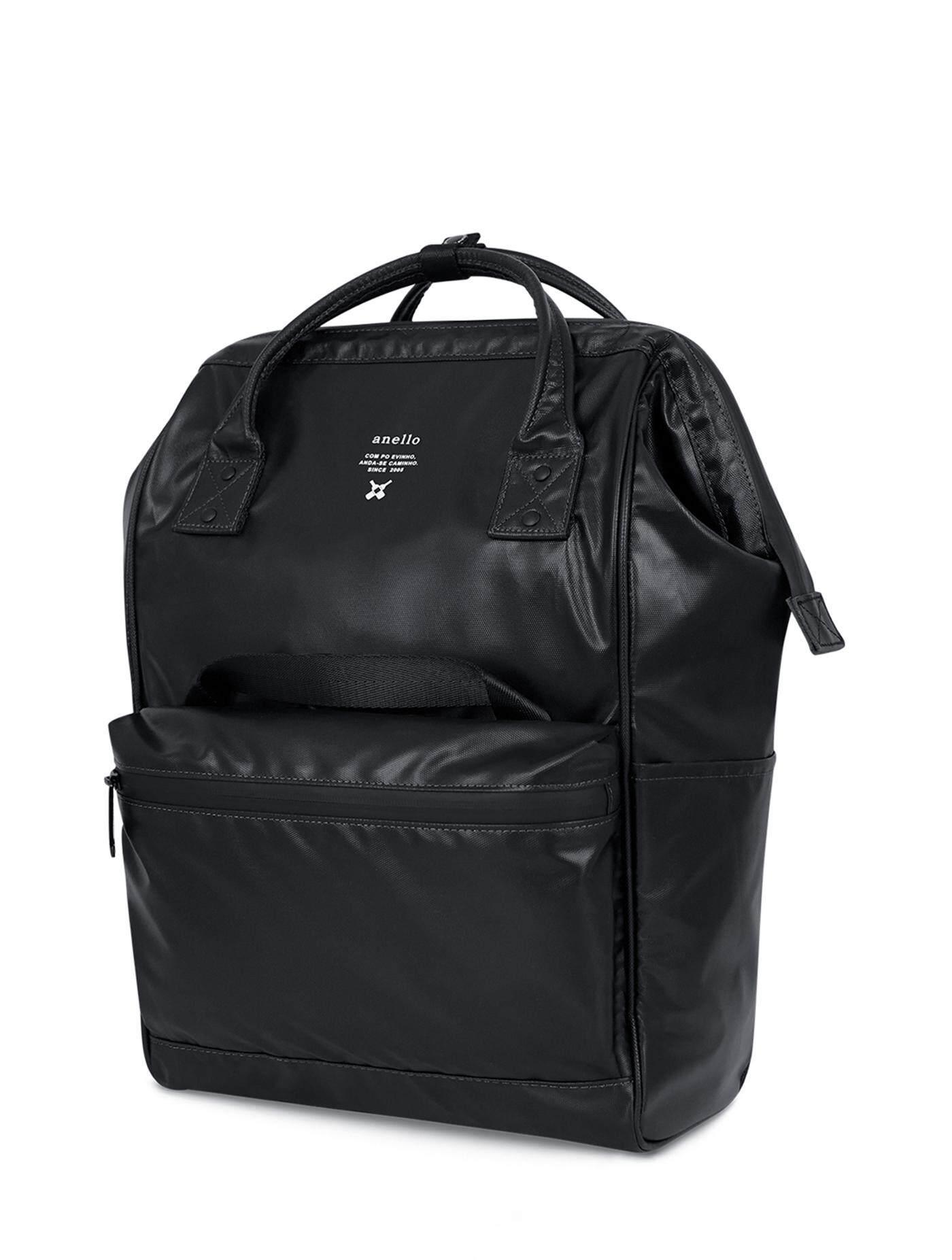 การใช้งาน  ชุมพร ANELLO กระเป๋าผู้ชาย กระเป๋าเป้ Regular Water Resistant รุ่น OS-B001_BK ขนาด Regular สีดำ