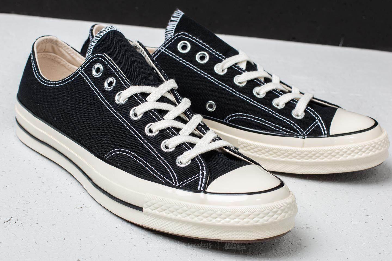 ยี่ห้อนี้ดีไหม  บึงกาฬ รองเท้าผ้าใบ Converse Chuck Taylor All Star  70 ox plimsolls in black 16-2058CBK