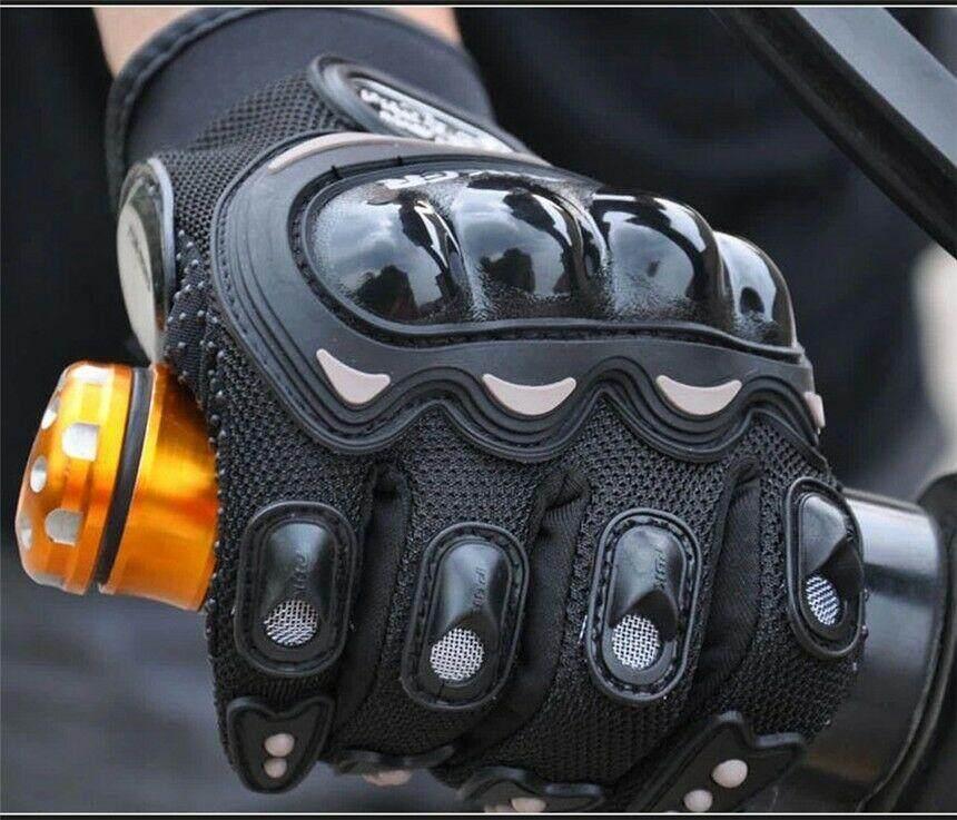 Touched Screen Gloves for motorcycle ถุงมือขับมอเตอร์ไซค์ ทัชสกรีนได้ PRO-BIKER ป้องกันการบาดเจ็บที่มือ ระบายอากาศดี (ฟรีไซต์)