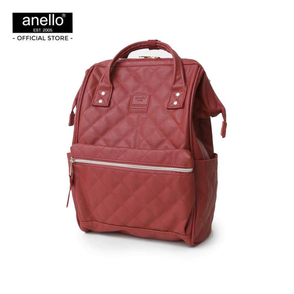 ทำบัตรเครดิตออนไลน์  ชลบุรี anello กระเป๋าเป้ Regular Classic Rucksack PU_AH-B3001