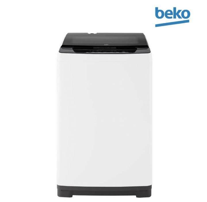 BEKO เครื่องซักผ้าฝาบน 8 KG. รุ่น BTU8086W