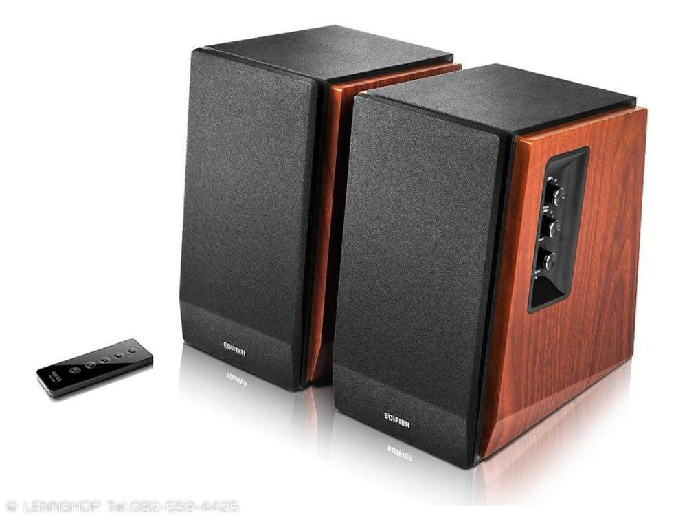 ยี่ห้อนี้ดีไหม  กาญจนบุรี EDIFIER R1700BT Buetooth Bookshelf  Speaker 2.0 Hifi ลำโพงบลูทูธ รีโมทไร้สาย ช่องต่อ RCA ประกันศูนย์ 2 ปี ลำโพงเสียงดี