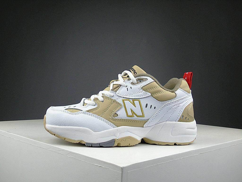 สอนใช้งาน  ภูเก็ต New Balance_2019 รองเท้าวิ่งผู้หญิง / Unisex s Fashion Sports Running Shoes Sneakers NB-608-9