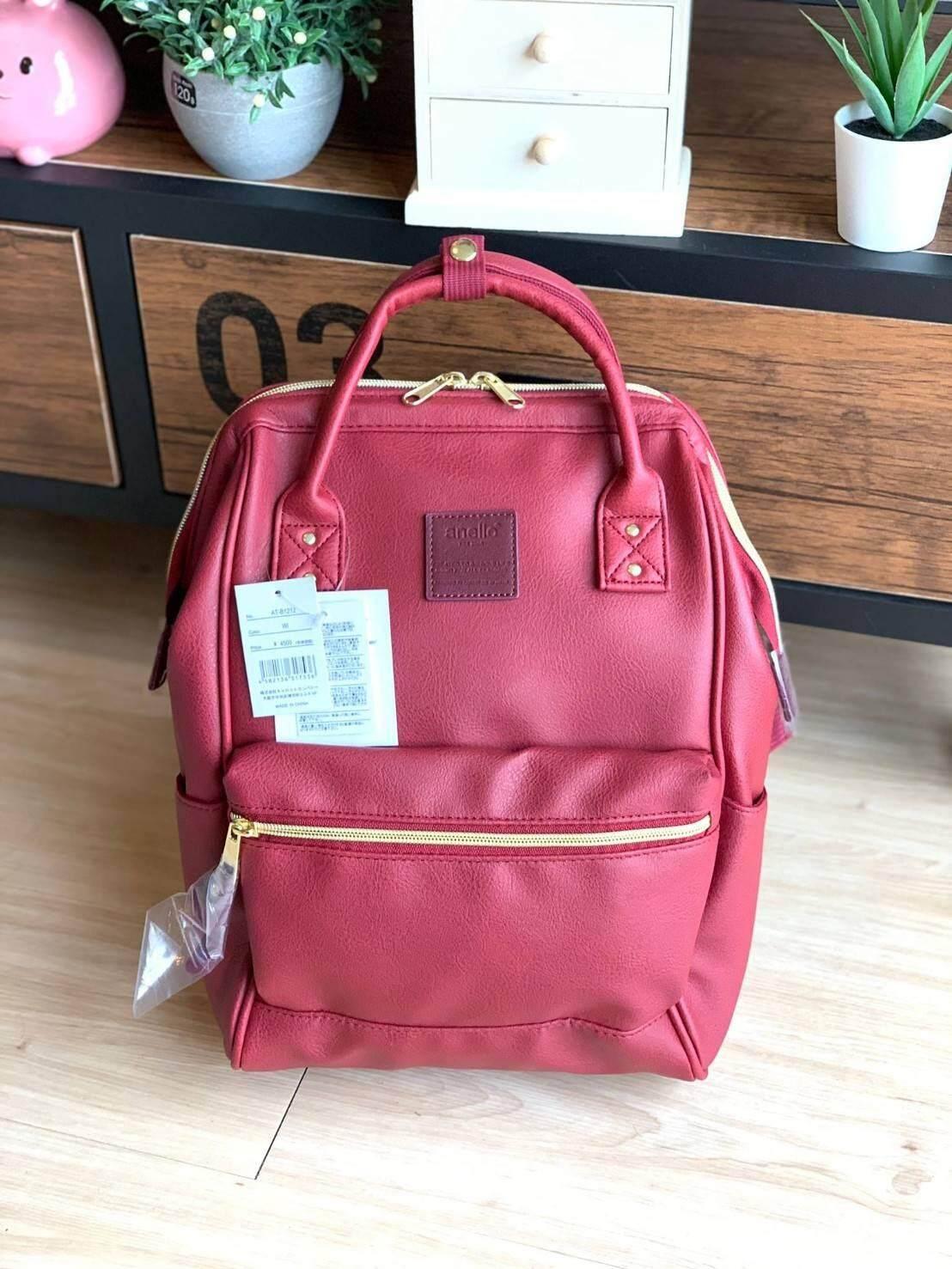 การใช้งาน  สมุทรสงคราม NiceShoes   Anello polyurethane leather rucksack รุ่น Mini  กระเป๋าเป้ BH070412