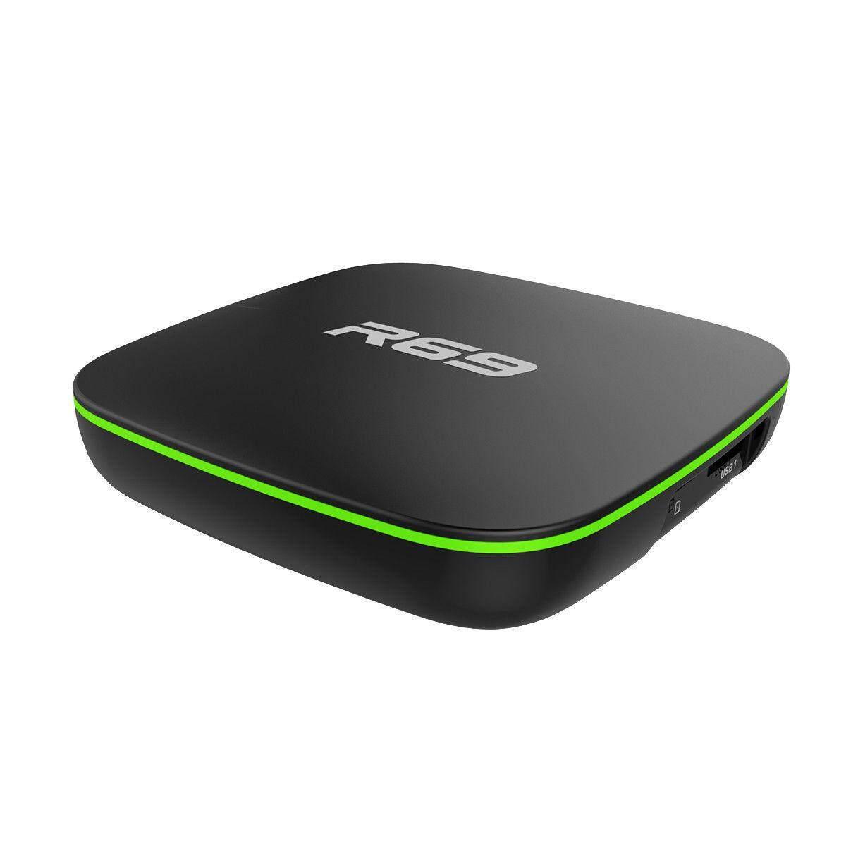 อุตรดิตถ์ R69 Android 6.0 Smart TV Box 1G + 8G 4K WiFi Quad Core Midea Player AB ( Shoptoyou )