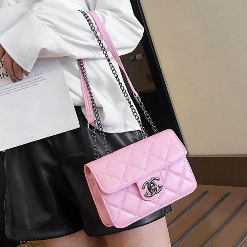 กระเป๋าเป้สะพายหลัง นักเรียน ผู้หญิง วัยรุ่น ฉะเชิงเทรา กระเป๋าแฟชั่นสะพายข้างสุดฮิต bag