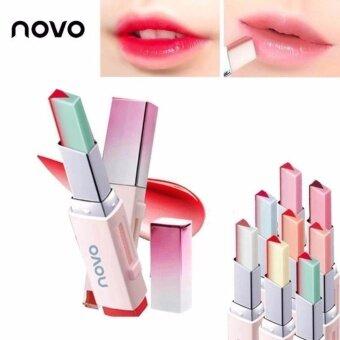 04 ลิปทูโทน V.2 Novo Tint Lipbar สองเฉดสีสองเนื้อสัมผัส เฉดสีชัดติดทนนาน ริมฝีปากให้ดูมีมิติ