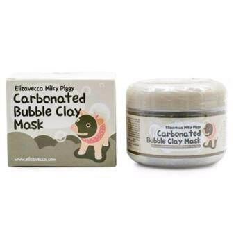 ของแท้ 100% Elizavecca Milky Piggy Carbonated Bubble Clay Mask เครื่องสำอางเกาหลีของแท้จากShopเกาหลี