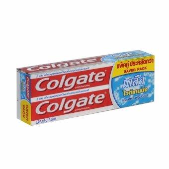 คอลเกต ยาสีฟัน เกลือ ไวท์เทนนิ่ง 150 กรัม แพ็คคู่
