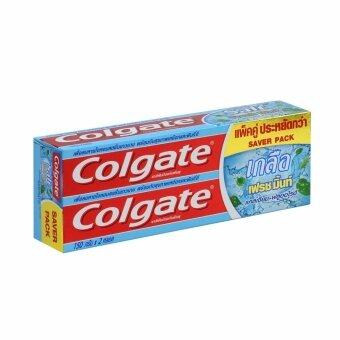 คอลเกต ยาสีฟัน เกลือ เฟรช มิ้นท์ 150g แพ็คคู่